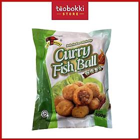 Bánh bao trứng cá chuồn/Cá viên cà ri Mushroom 500g