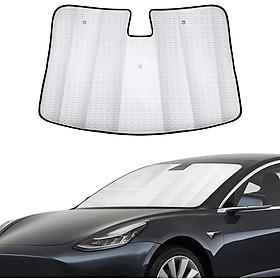 Car Sunvisor Automotive Reflective WindShield Sunshade for Tesla Model 3