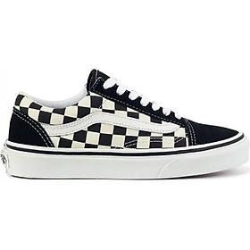 Giày Sneaker Unisex Vans Old Skool Black Checkerboard VN0A38G1P0S