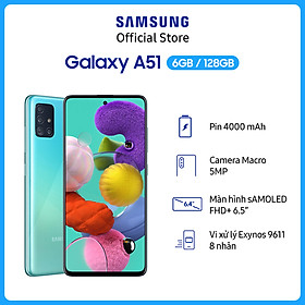 Điện Thoại Samsung Galaxy A51 (6GB/128GB) - Hàng Chính Hãng