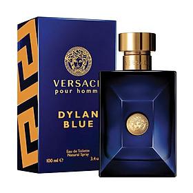 Nước Hoa Nam Versace Pour Homme Dylan Blue - Eau De Toilette (100ml)