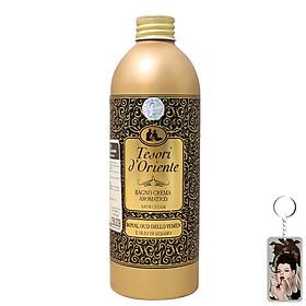 Dầu tắm hoàng gia Tesori d'Oriente Royal Oud Dello 500ml + Móc khóa