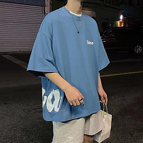 4 Color【M-3XL】 Summer New Style Fashion Simplicity Printed Short Sleeve T-shirt Men Breathable Unisex Half Sleeve T-shirt Oversize Student Short T-shirt Couple Wear