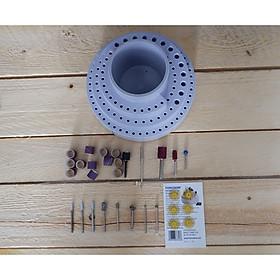 Bộ dụng cụ AKWK53 dùng cho máy đánh bóng Foredom