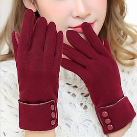 Bao tay găng tay Nữ chống nắng giữ ấm lái xe, sử dụng điện thoại Cao Cấp - MD001