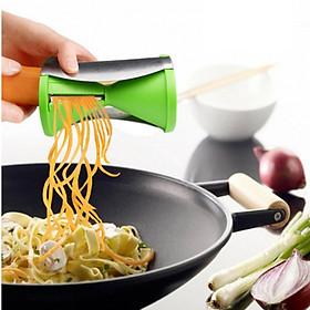 Dụng cụ cắt gọt gau củ quả thành sợi tiện dụng,bào gọt vỏ bào sợi rau củ quả đa năng,máy cắt gợt rau củ quả,bộ cắt gọt rau củ quả 206109 (màu xanh)