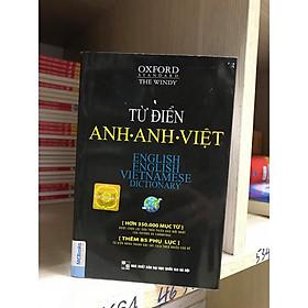 Từ điển Anh – Anh- Việt  (bìa đen) ( BẢN MỚI 2020) KT