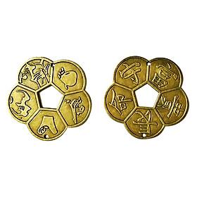 Tiền hoa mai, đồng xu, tiền cổ