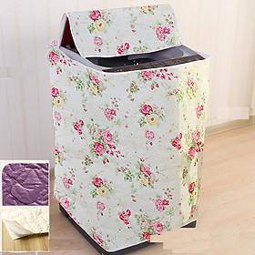 Áo trùm máy giặt 9kg - 10kg - vải PEVA 2 lớp - cửa trên- kích thước 61x64x90cm