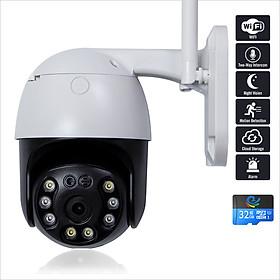 Camera Wifi Ngoài Trời Xoay 360 Chống Nước Việt Star Quốc Tế, 3.0 Mpx FULL HD - Hàng Chính Hãng