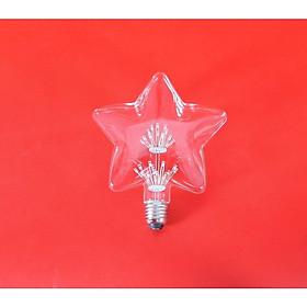 Bóng đèn led trang trí hình ngôi sao, đèn trang trí độc đáo hàng chính hãng