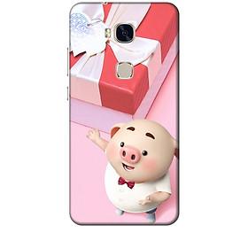 Ốp lưng dành cho điện thoại Huawei GR5 Heo Con Đòi Quà