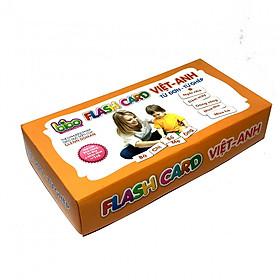Bộ Thẻ Flashcards Cho Bé  Từ Đơn -Từ Ghép Song Ngữ Anh_VIệt Loại Thẻ To BENRIKIDS-TUDON