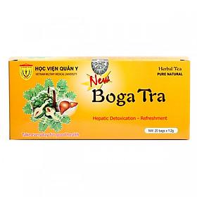 Trà bổ gan Bogatra Học Viện Quân Y 20 gói