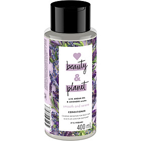 Dầu Xả Giảm Xơ Rối Love Beauty And Planet Smooth and Serene 400ml