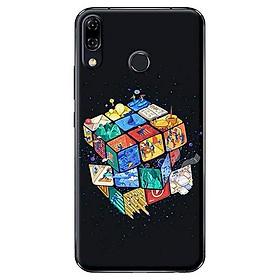 Hình đại diện sản phẩm Ốp Lưng Dành Cho Asus Zenfone 5 ZE620KL - Mẫu Rubik