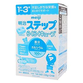 Sữa Meiji 1-3 Dạng Thanh cho trẻ từ 1 tuổi đến 3 tuổi (24 Thanh)