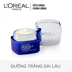 Kem Dưỡng Giảm Thâm Nám Và Trắng Mịn Ban Đêm L'Oréal White Perfect Clinical 50ml