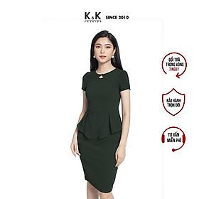 Váy Đầm Ôm Body Peplum K&K Fashion KK103-01