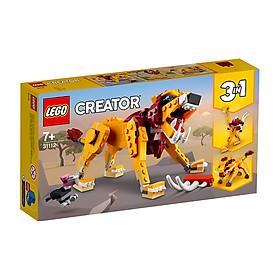 Đồ chơi LEGO Creator Sư Tử Hoang Dã 31112