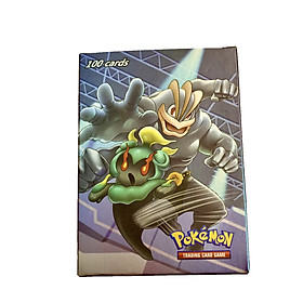Bộ Thẻ Bài Pokemon 100 Thẻ Cao Cấp Nhiều Loại