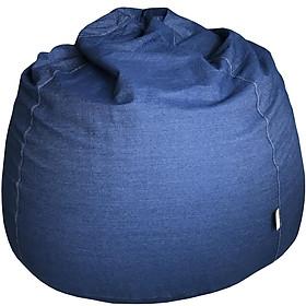 Ghế lười hạt xốp hình Giọt nước vải Jean GH-GINU-JEAN