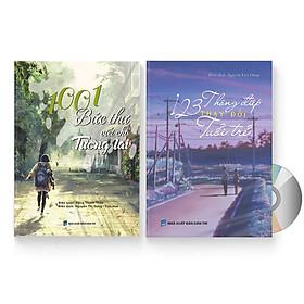 Combo 2 sách: 1001 Bức thư viết cho tương lai + 123 Thông Điệp Thay Đổi Tuổi Trẻ (Trung giản thể – Trung phồn thể – Pinyin – tiếng Việt) + DVD quà tặng