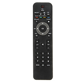 Black Replacement TV Remote Control 185mm*46mm For Philips Smart HD LED TV 670