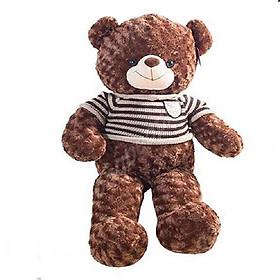Gấu bông teddy cao cấp khổ vải 80cm cao 60cm