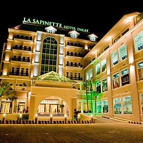 La Sapinette Hotel 4* Đà Lạt - Gồm Buffet Sáng, Khách Sạn Hàng Đầu Việt Nam, Gần Ngay Bến Xe Thành Bưởi Đà Lạt