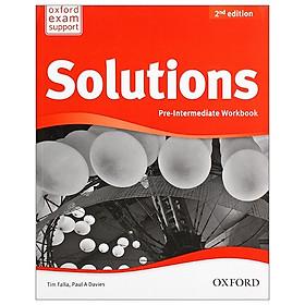 Solutions: Pre-Intermediate: Workbook 2nd Edition