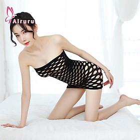 Đồ ngủ lưới Sexy gợi cảm Đồ Cosplay xuyên thấu