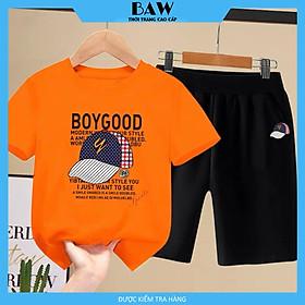Set Đồ Bé Trai phong cách hàn quốc, thời trang trẻ em thương hiệu BAW mã 112