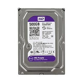 Ổ cứng HDD 500G Western Tím SATA - Tặng cáp dữ liệu SATA