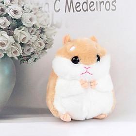 Móc khóa chuột Hamster dễ thương V.3, Móc khóa hình chuột Hamster siêu đáng yêu màu sắc dễ thương - Màu ngẫu nhiên