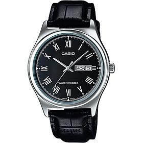 Đồng hồ nam dây da Casio MTP-V006L-1BUDF