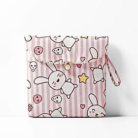 Túi Đựng Băng Vệ Sinh  Nhỏ Gọn Siêu Đáng Yêu ( 13 x 13cm )