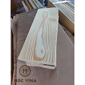 Combo 5 tấm gỗ thông mới đẹp dài 45cm,rộng 13.5cm,dày 1.4cm bào láng đẹp 4 mặt trang trí,làm kệ Mộc Vina