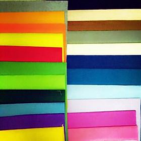 Set 30 mảnh vải dạ nỉ làm đồ handmade