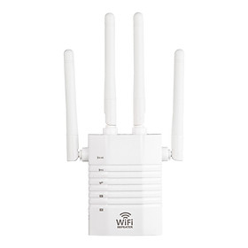 WD-R1205U 1200Mbps WiFi Booster Wireless Repeater Dual Band Wifi Repeater Four Antennas 2.4GHz 5GHz 1200M WiFi Internet