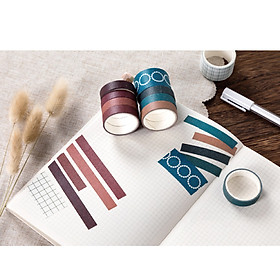 Sweet Dream Series Washi Japanese Paper Tape Scrapbooking Tape Rolls 2 Meters for DIY Decoration Journals Scrapbooks