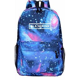 Balo Blackpink galaxy tinh cầu 3 màu nam nữ đựng laptop hộp bút bóp vở viết đi học tiện dụng thiết kế thông minh