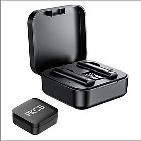 Tai nghe bluetooth nhét tai phiên bản quốc tế True Wireless cảm ứng vân tay thông minh PKCB PF1014 237 - Hàng chính hãng