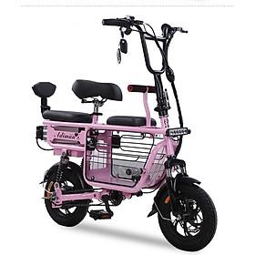 Xe điện mini X1 cute cho mẹ và bé