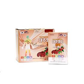 Nước linh chi táo đỏ Hàn Quốc Daedong Korea Ginseng 80ml x 15 gói (Dành riêng cho độ tuổi trung niên, người già hay mất ngủ, huyết áp không ổn định và phụ nữ thời kì mãn kinh)