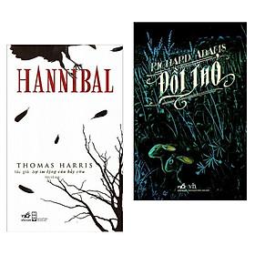 Combo Tiểu Thuyết Bán Chạy: Hannibal + Đồi Thỏ (Bộ 2 cuốn/ Tặng kèm bookmark Happy Life)