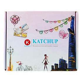 Bộ KatchUp Flashcard 3000 Từ Tiếng Anh A-B (1500 từ) - High Quality