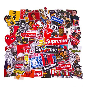 Set 100 Sticker - Supreme