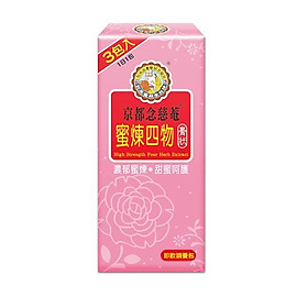 Mật ong dạng cao đặc 4 loại thảo dược NIN JIOM - 3 gói/ hộp