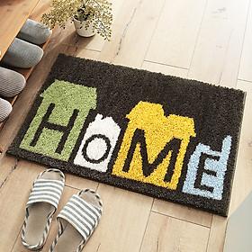 Thảm chùi chân, thảm nhà tắm, thảm cửa ra vào họa tiết Home